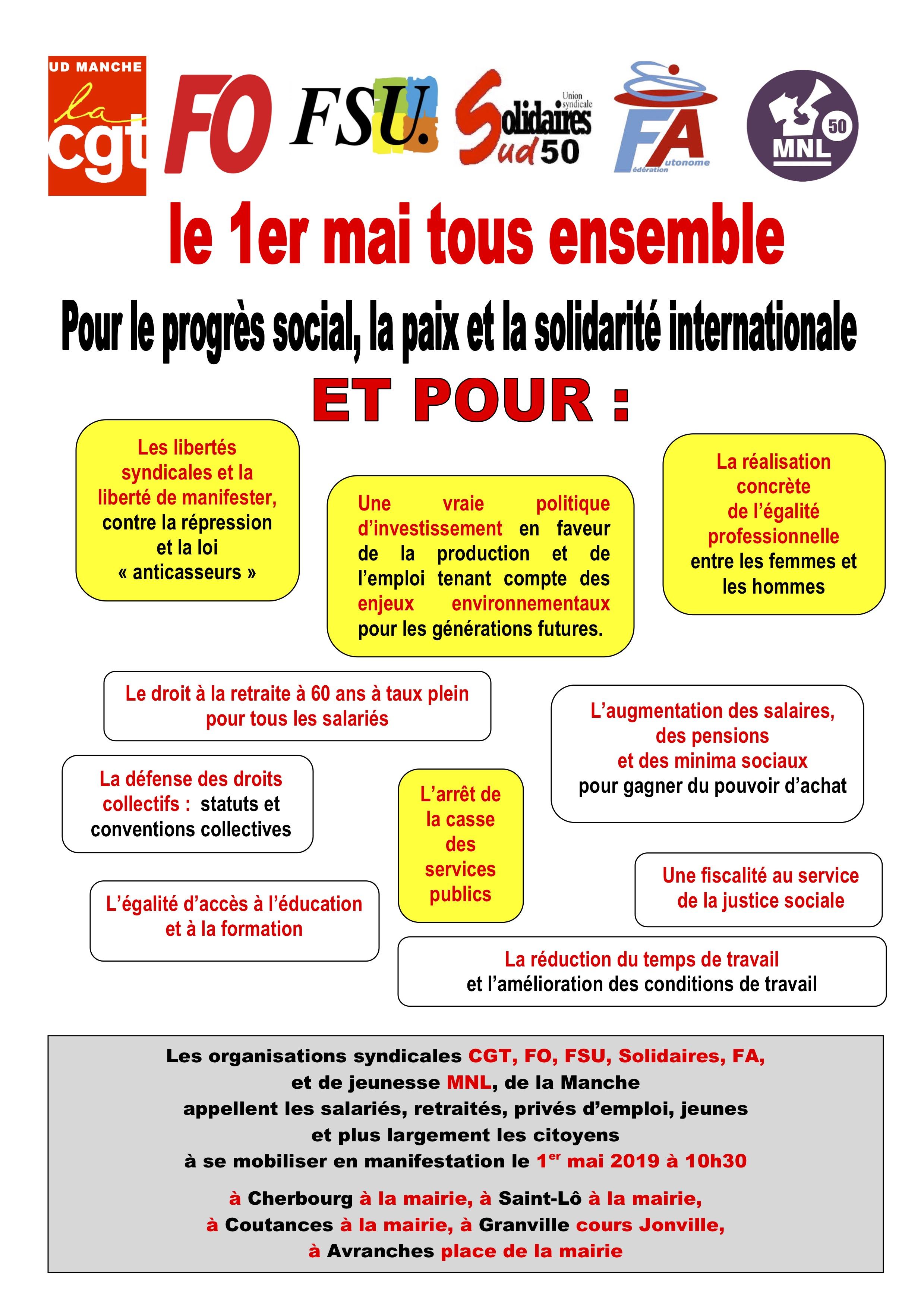 b2976314871 Union départementale FO 50 - Manche
